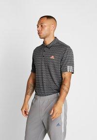 adidas Golf - STRIPE COLLECTION - Koszulka polo - black/grey three - 0