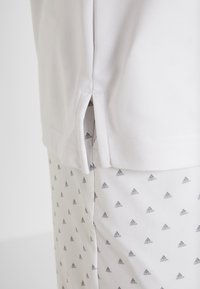 adidas Golf - STRIPE BASIC - Polo - white/black - 5