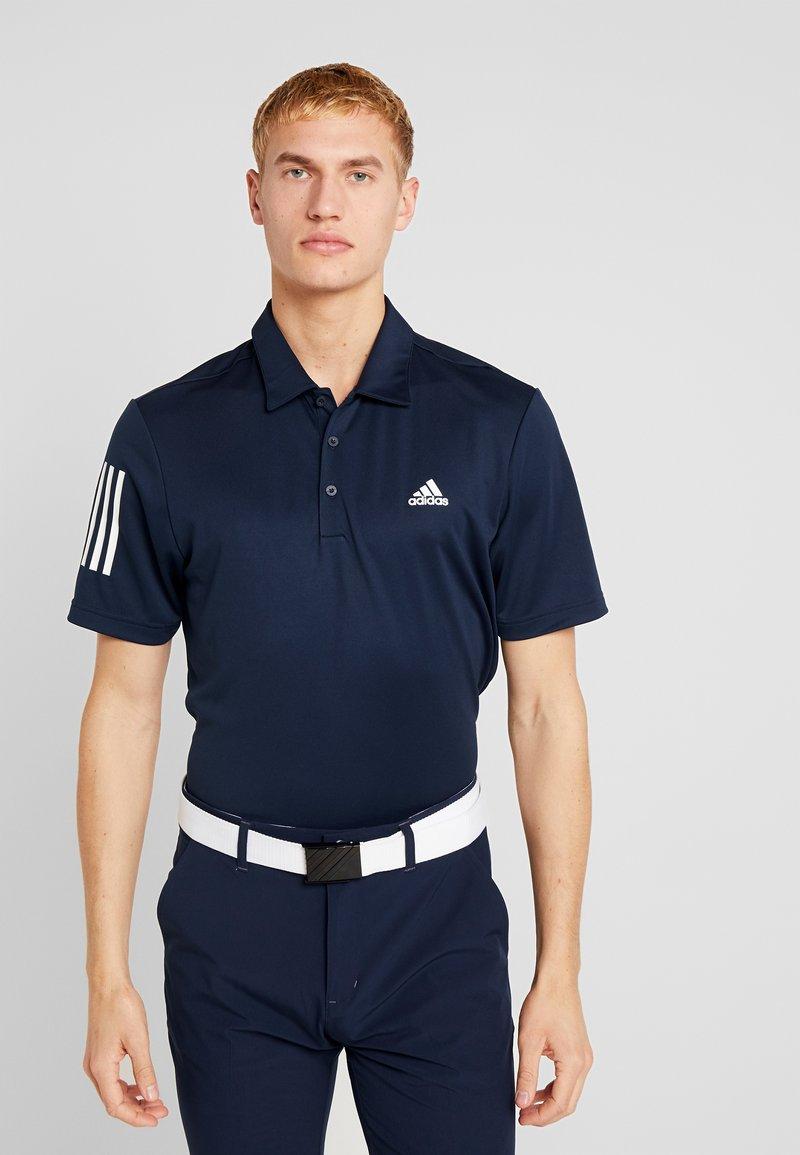 adidas Golf - STRIPE BASIC - Polotričko - collegiate navy/white