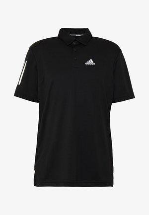 STRIPE BASIC - Polo - black/white