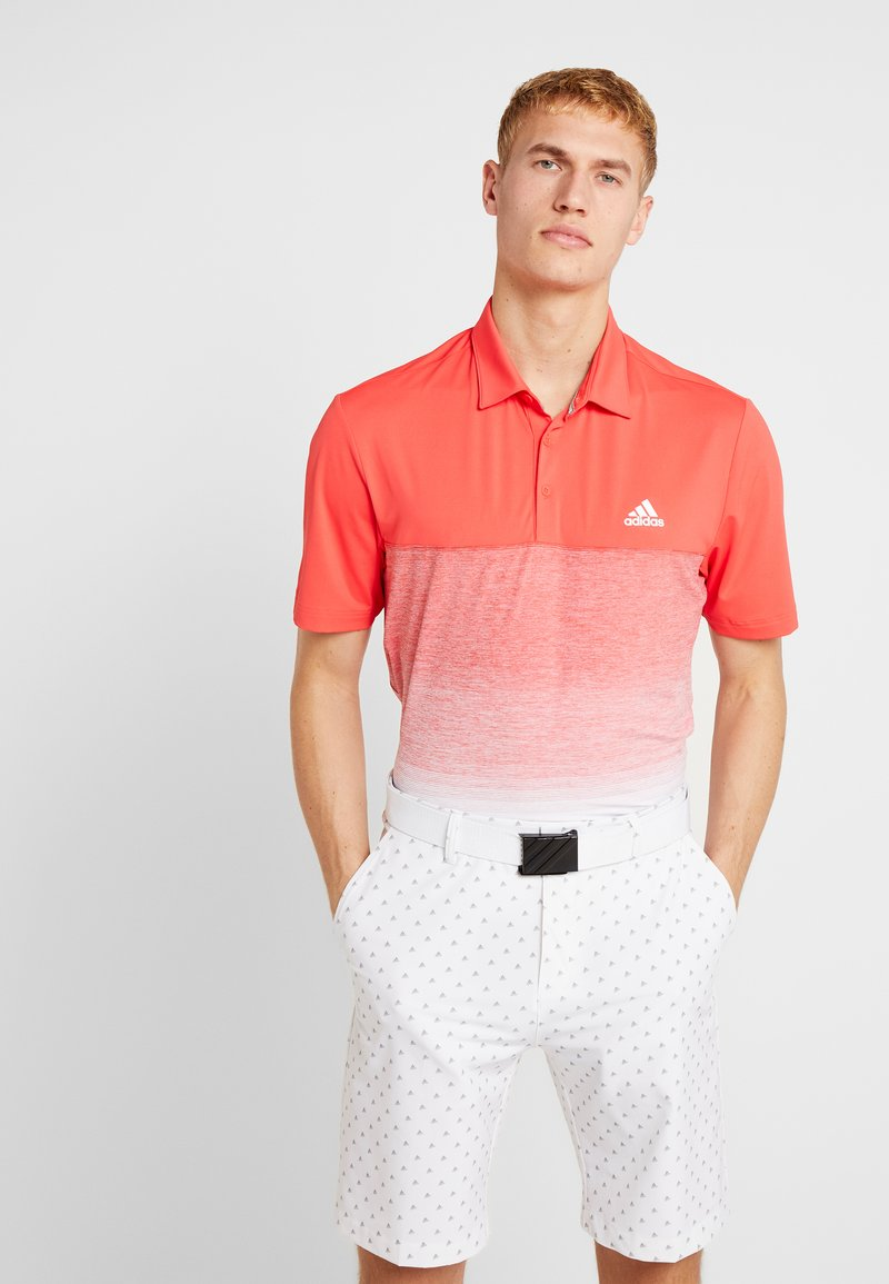 adidas Golf - Funktionstrøjer - real coral/white