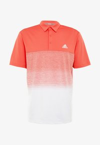 adidas Golf - Funktionstrøjer - real coral/white - 5
