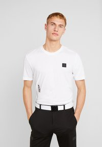 adidas Golf - T-shirt imprimé - white - 0