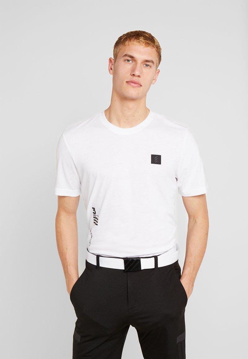 adidas Golf - T-shirt imprimé - white