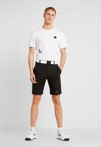 adidas Golf - T-shirt imprimé - white - 1