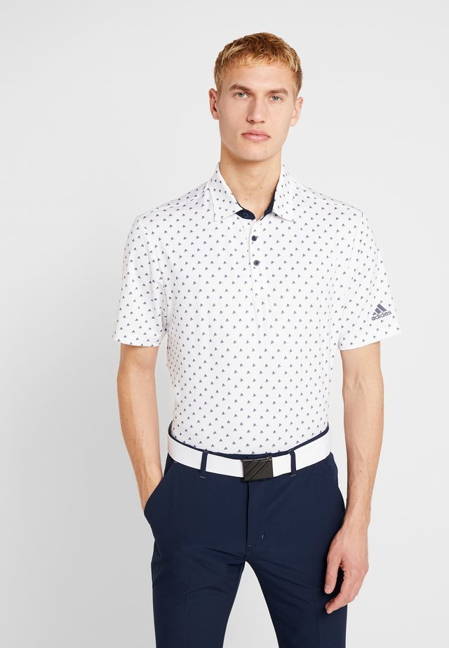 Polotričko - white/collegiate navy