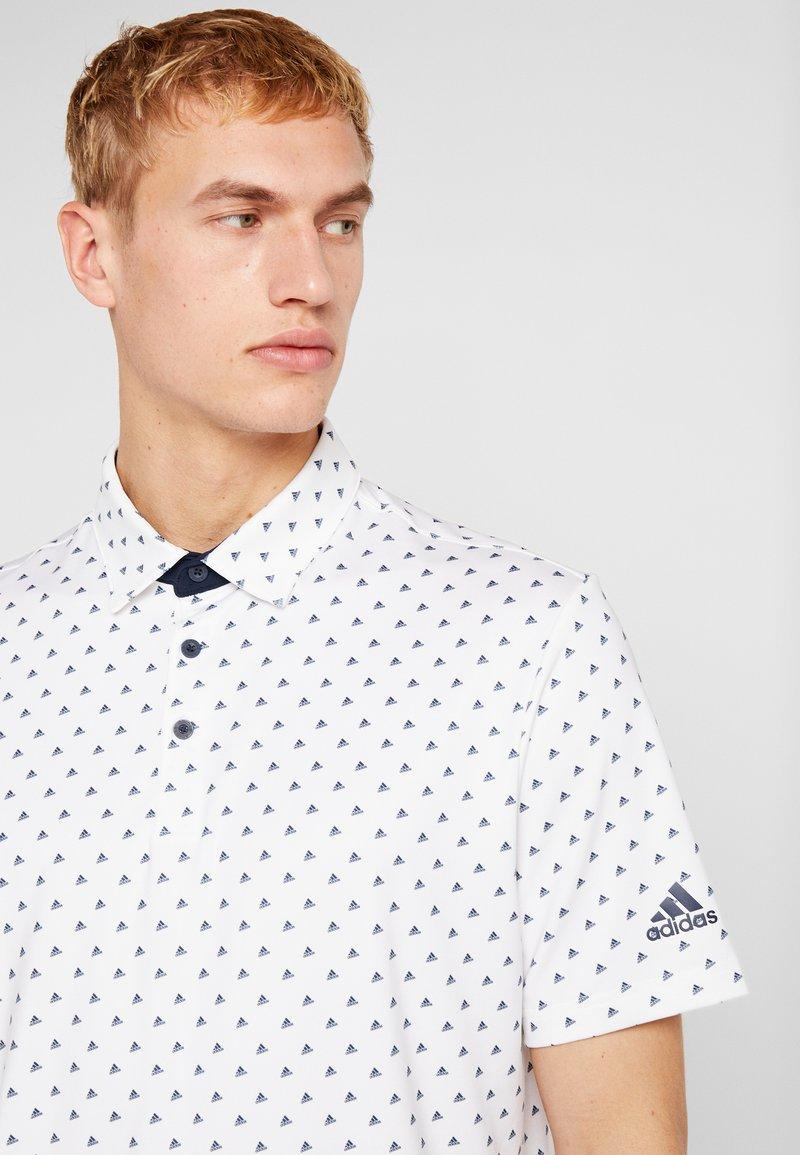 adidas Golf Poloskjorter - white/collegiate navy