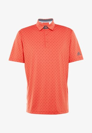 Poloshirt - real coral/grey