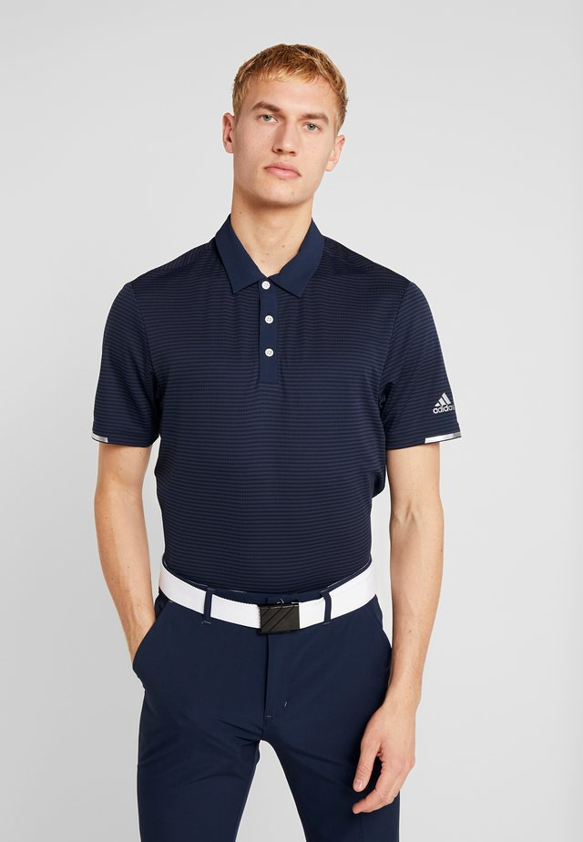 HEAT RDY STRIPE - Koszulka sportowa - collegiate navy/night navy