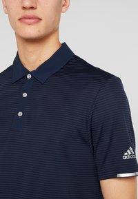 adidas Golf - HEAT RDY STRIPE - Funktionstrøjer - collegiate navy/night navy - 4