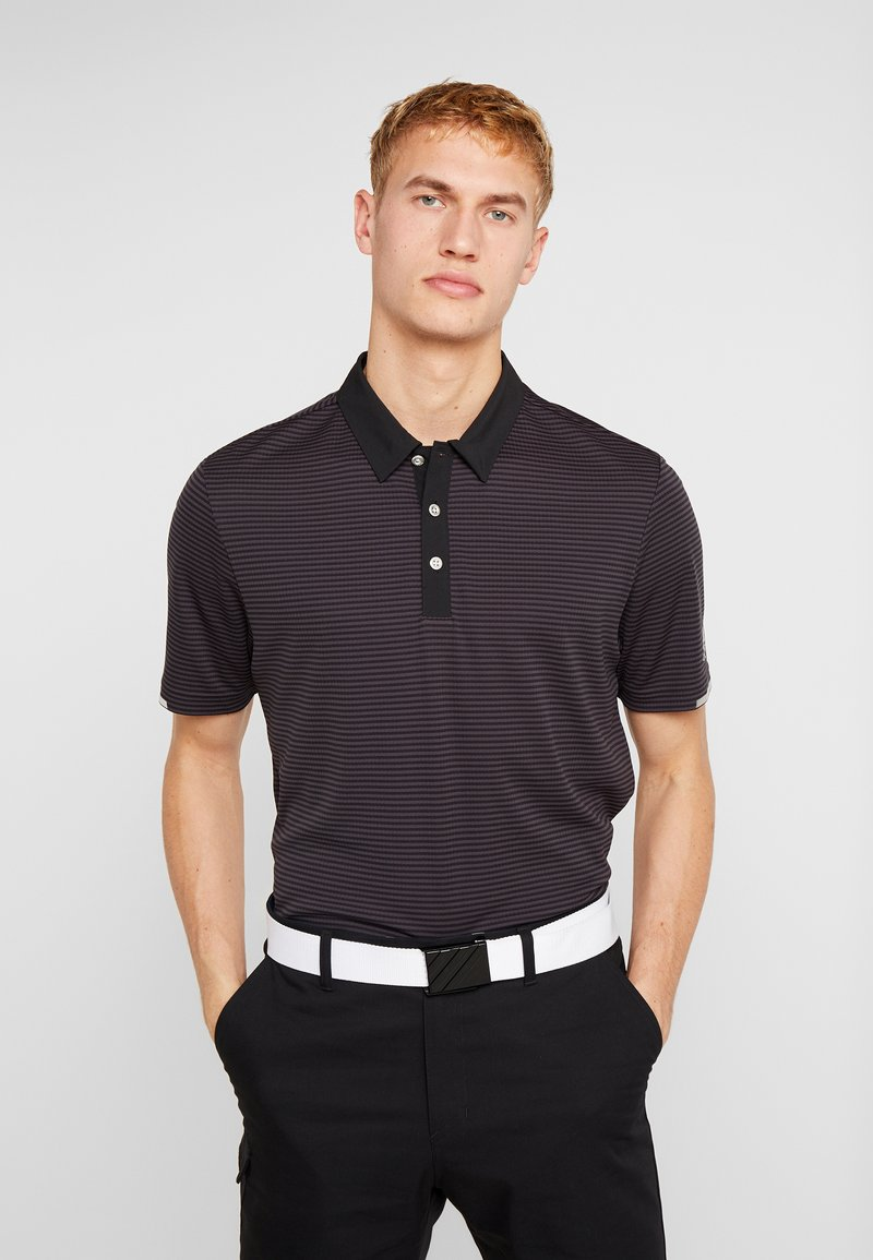adidas Golf - HEAT RDY STRIPE - Funkční triko - black/carbon