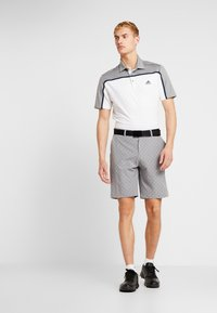 adidas Golf - Poloshirts - white/grey three melange - 1