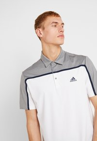 adidas Golf - Poloshirts - white/grey three melange - 3