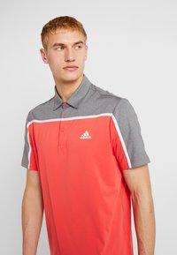 adidas Golf - Polo - real coral/grey four melange - 3