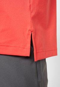 adidas Golf - Polo - real coral/grey four melange - 4