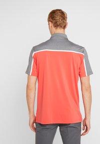 adidas Golf - Polo - real coral/grey four melange - 2