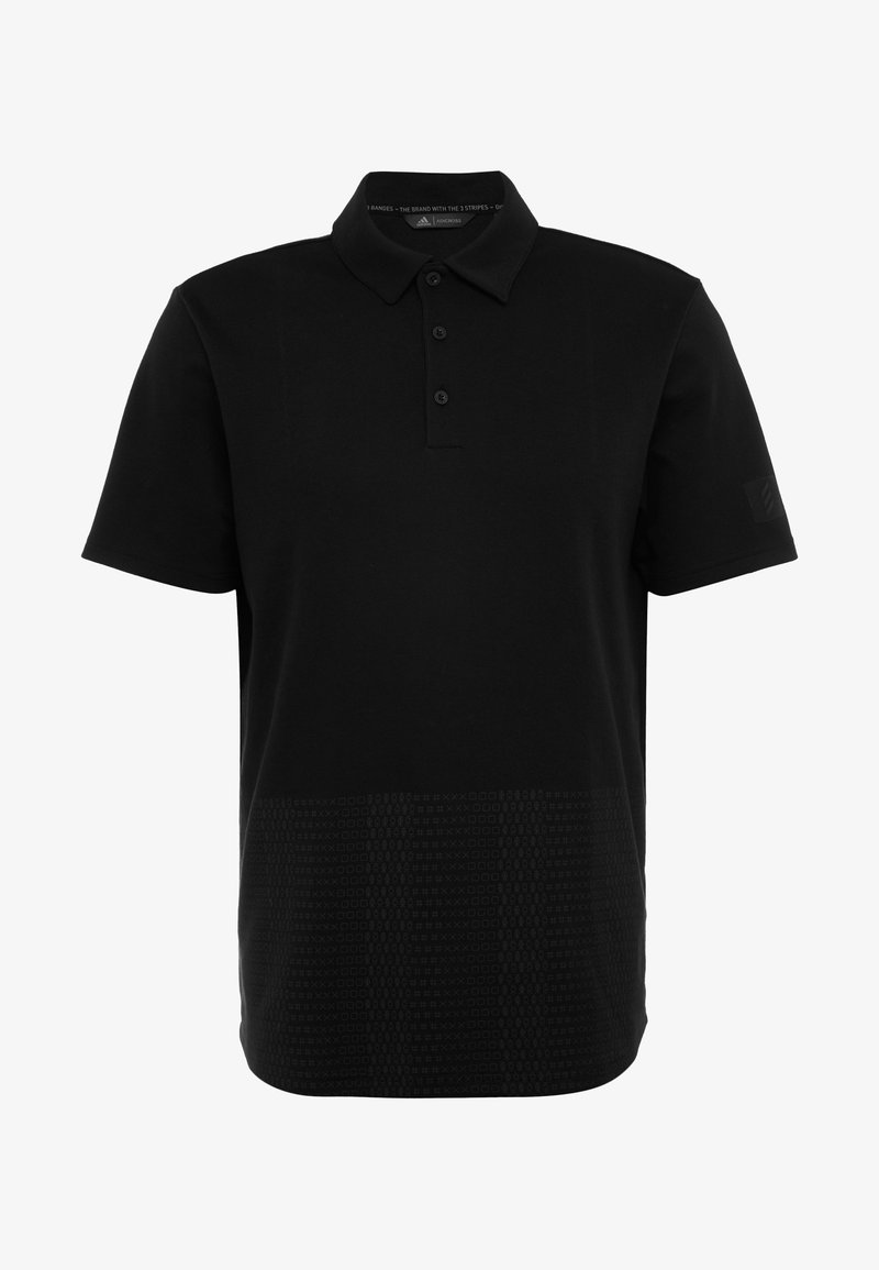adidas Golf Poloskjorter - black/carbon