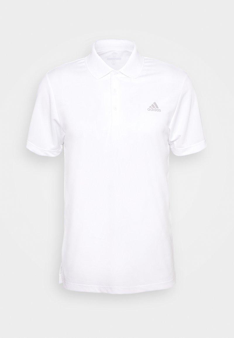 adidas Golf - PERFORMANCE SPORTS GOLF SHORT SLEEVE - Polotričko - white