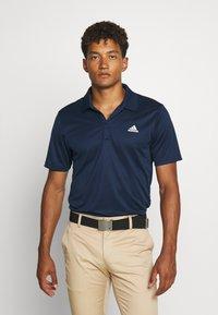 adidas Golf - PERFORMANCE SPORTS GOLF SHORT SLEEVE - Poloshirts - navy - 0