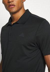 adidas Golf - PERFORMANCE SPORTS GOLF SHORT SLEEVE - Poloshirts - black - 4