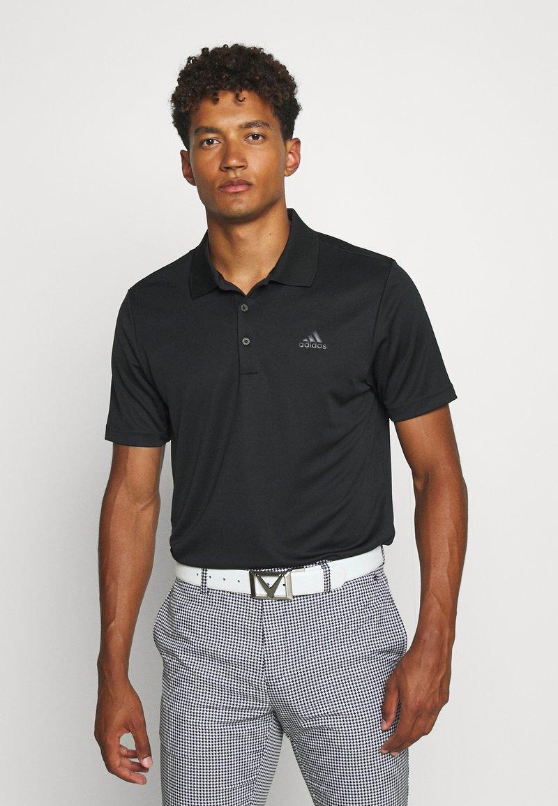 adidas Golf - PERFORMANCE SPORTS GOLF SHORT SLEEVE - Poloshirts - black