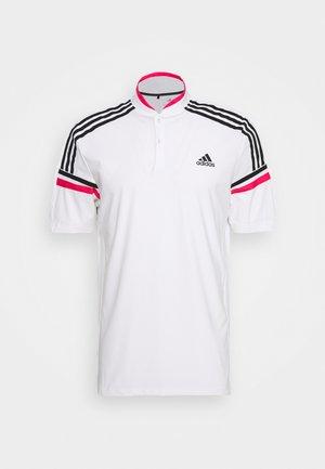 PERFORMANCE SPORTS GOLF SHORT SLEEVE - Polotričko - white/power pink
