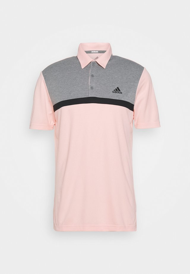 PERFORMANCE SPORTS GOLF SHORT SLEEVE  - Poloshirts - pink tint/grey melange