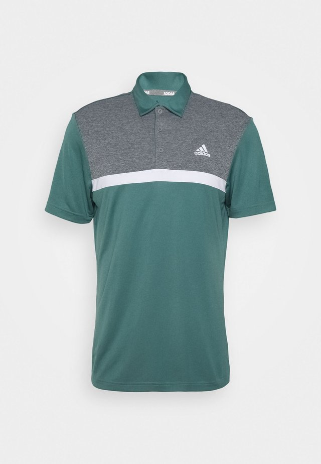 PERFORMANCE SPORTS GOLF SHORT SLEEVE  - Polo shirt - tech emerald/black melange