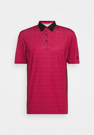 ULTIMATE 365 SHORT SLEEVE  - Polo - power pink/black
