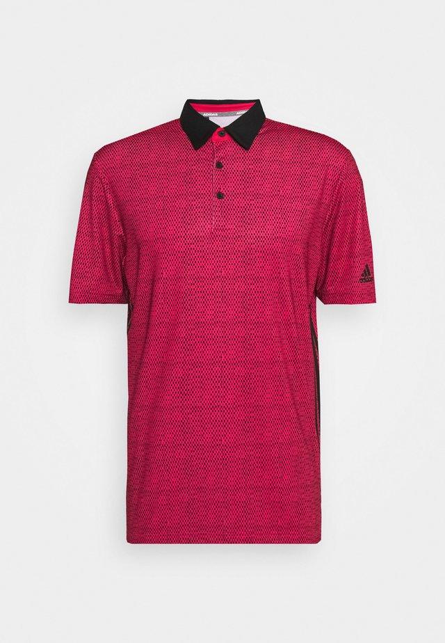 ULTIMATE 365 - Polo shirt - power pink/black