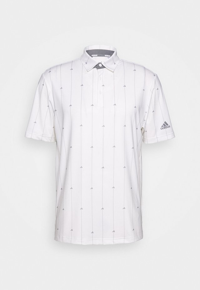 ULTIMATE SPORTS GOLF SHORT SLEEVE - Funktionsshirt - white/grey three/grey two