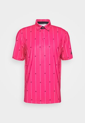 ULTIMATE SPORTS GOLF SHORT SLEEVE - Funkční triko - power pink/black/grey two