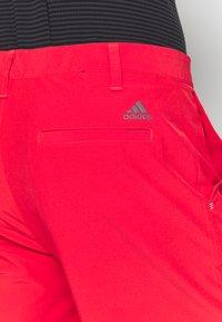 adidas Golf - SHORT - Sportovní kraťasy - real coral - 5
