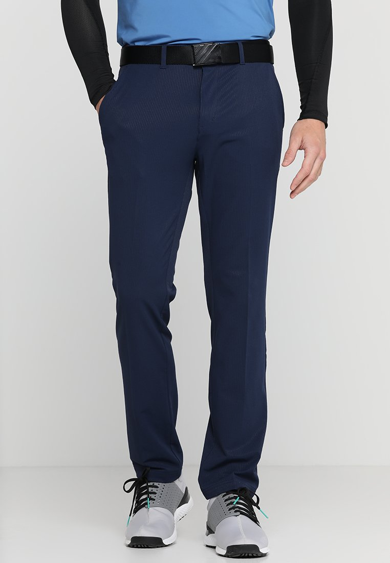 adidas Golf - ULTIMATE TECH PANTS - Tygbyxor - collegiate navy