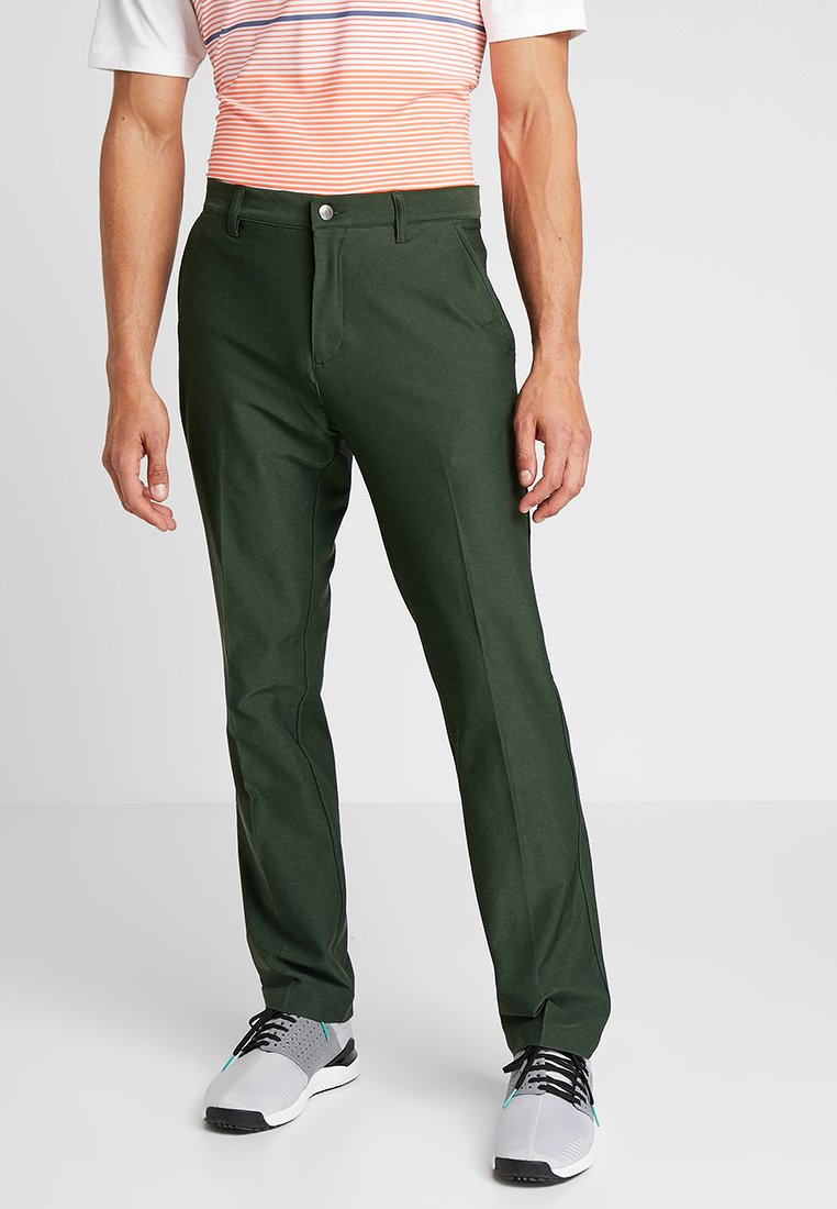 adidas Golf - TAPERED PANTS - Chinos - mottled olive