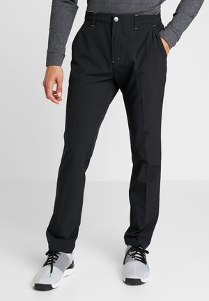 TAPERED PANTS - Chino - black