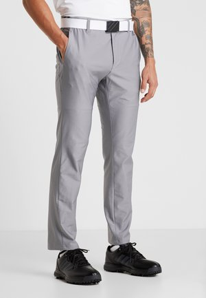 ULTIMATE365 3 STRIPES TAPERED PANTS - Outdoor trousers - grey heather