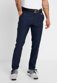 adidas Golf - ULTIMATE365 3 STRIPES TAPERED PANTS - Pantalons outdoor - collegiate navy - 0