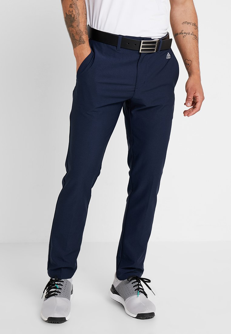adidas Golf - ULTIMATE365 3 STRIPES TAPERED PANTS - Pantaloni outdoor - collegiate navy
