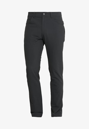 BEYOND FIVE POCKET PANTS - Tygbyxor - carbon