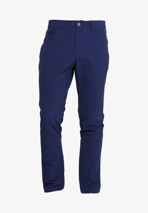 BEYOND FIVE POCKET PANTS - Pantalones - dark blue