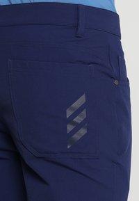 adidas Golf - BEYOND FIVE POCKET PANTS - Tygbyxor - dark blue - 5