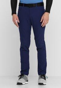 adidas Golf - BEYOND FIVE POCKET PANTS - Broek - dark blue - 0