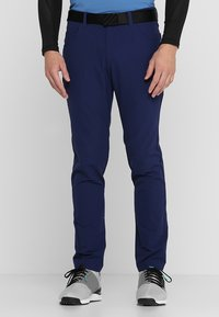 adidas Golf - BEYOND FIVE POCKET PANTS - Tygbyxor - dark blue - 0