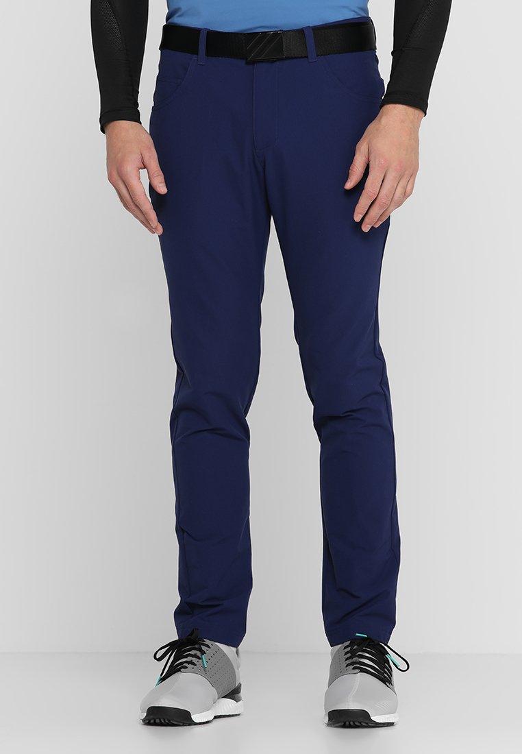 adidas Golf - BEYOND FIVE POCKET PANTS - Tygbyxor - dark blue