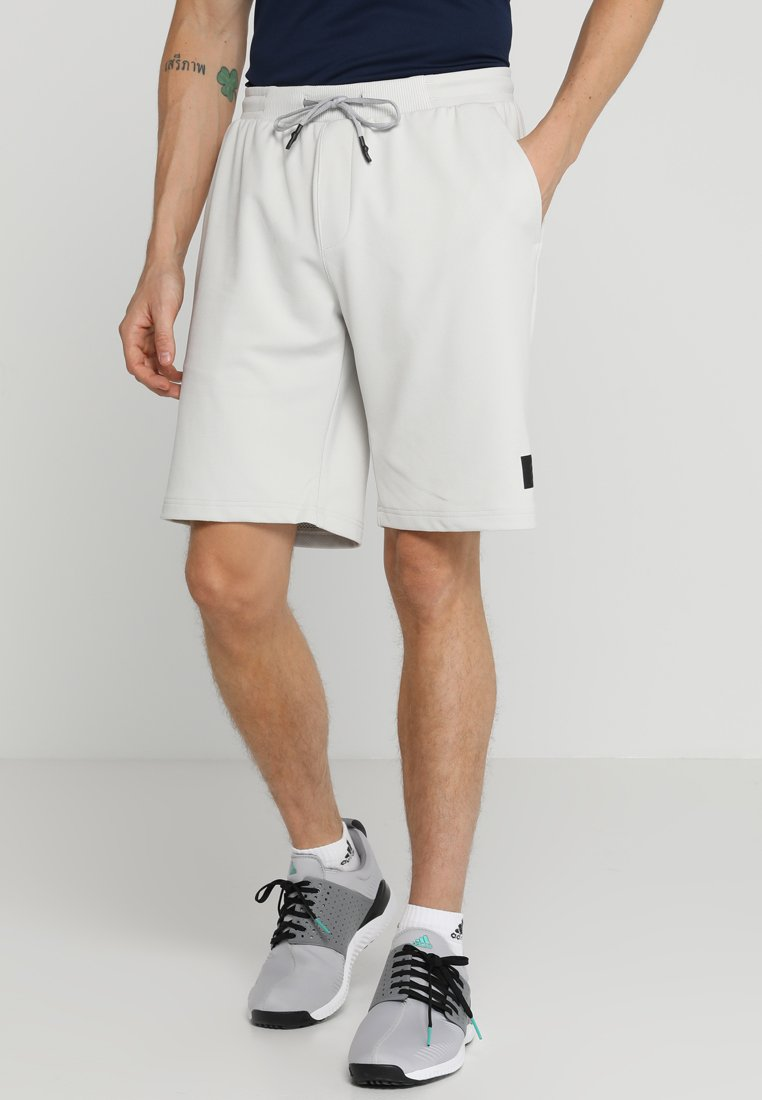 adidas Golf - ADICROSS PRIMEKNIT TRANSITION SHORTS - Korte sportsbukser - raw white