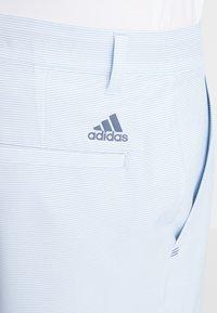 adidas Golf - STRIPE - Short de sport - glow blue - 6