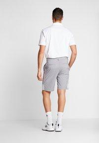 adidas Golf - STRIPE COLLECTION - Sportovní kraťasy - grey five melange - 2