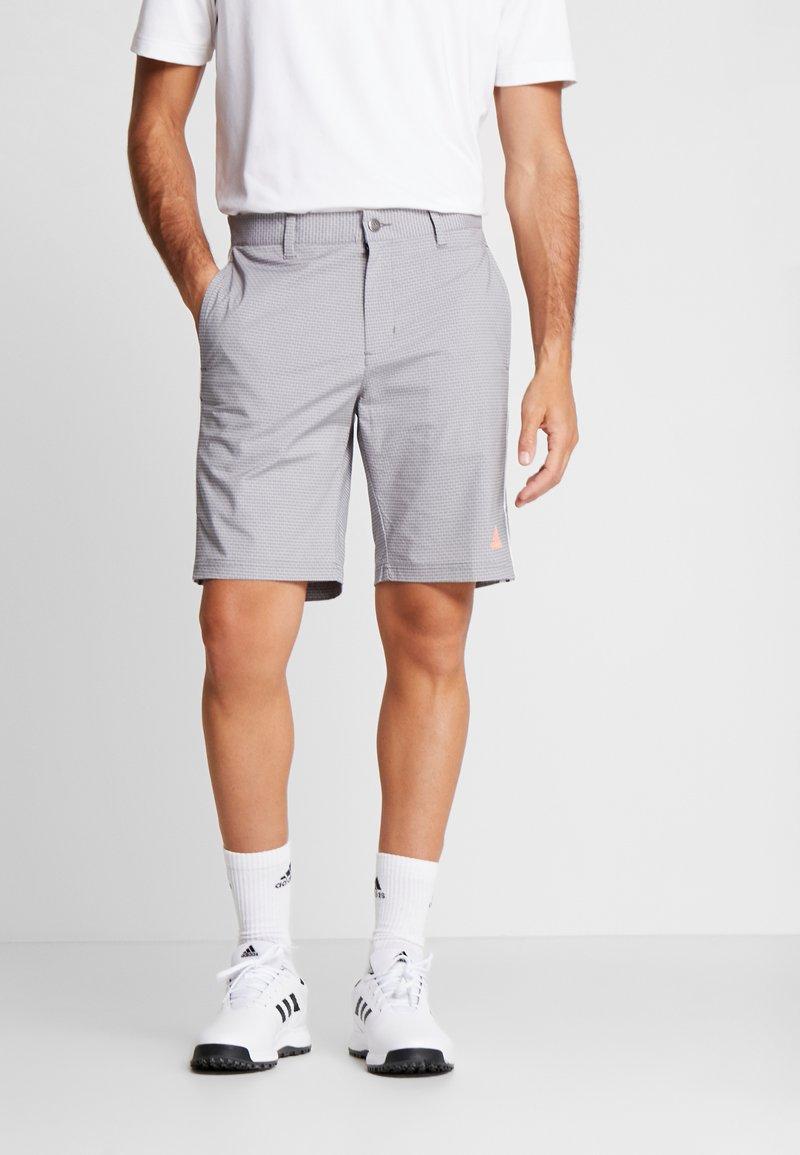 adidas Golf - STRIPE COLLECTION - Sportovní kraťasy - grey five melange
