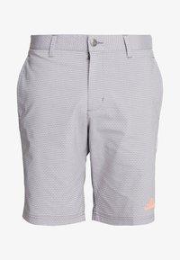 adidas Golf - STRIPE COLLECTION - Sportovní kraťasy - grey five melange - 4